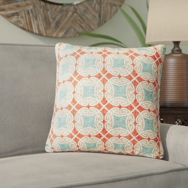 Colmar Cotton Throw Pillow by World Menagerie