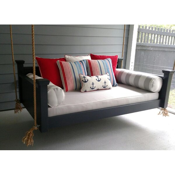 Southern Savannah Porch Swing by Custom Carolina Hanging Beds