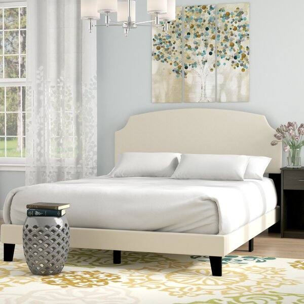 Melo Upholstered Standard Bed by Andover Mills