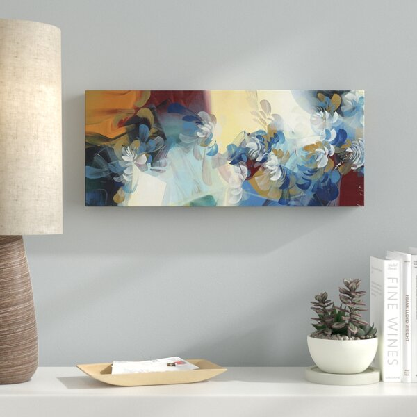 Sunrise Painting Print on Wrapped Canvas by Latitude Run