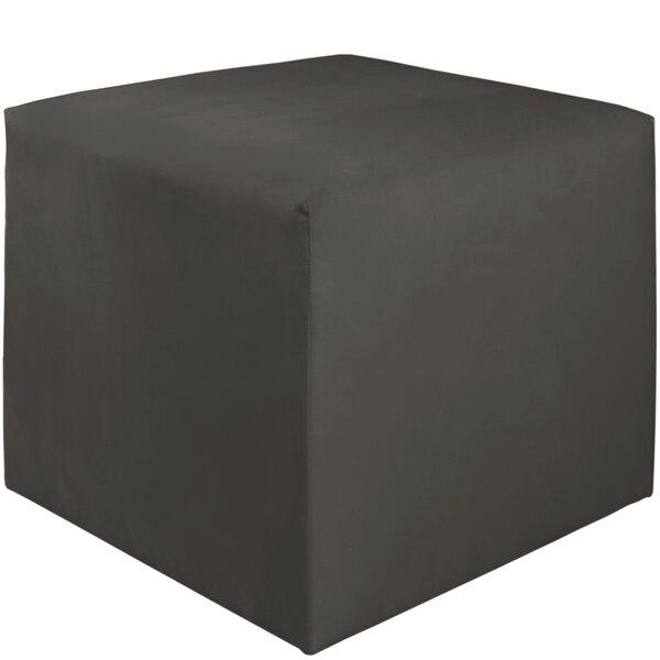 Premier Cube Ottoman by Brayden Studio