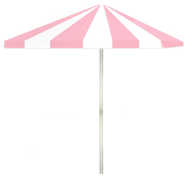 Ice Cream Parlour 6' Square Market Umbrella by Best of Times
