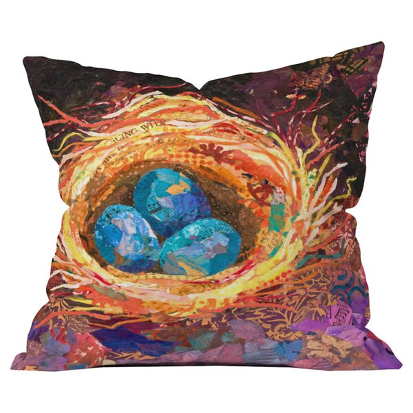 Home Nest Outdoor Throw Pillow by Deny Designs