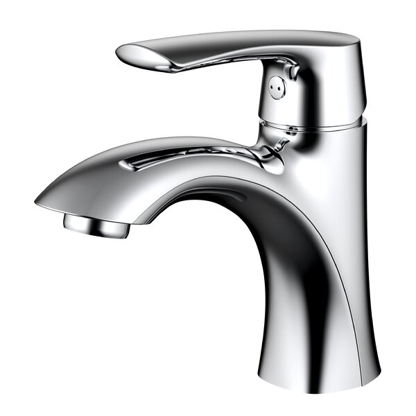 Single hole Bathroom Faucet with Drain Assembly by Daweier