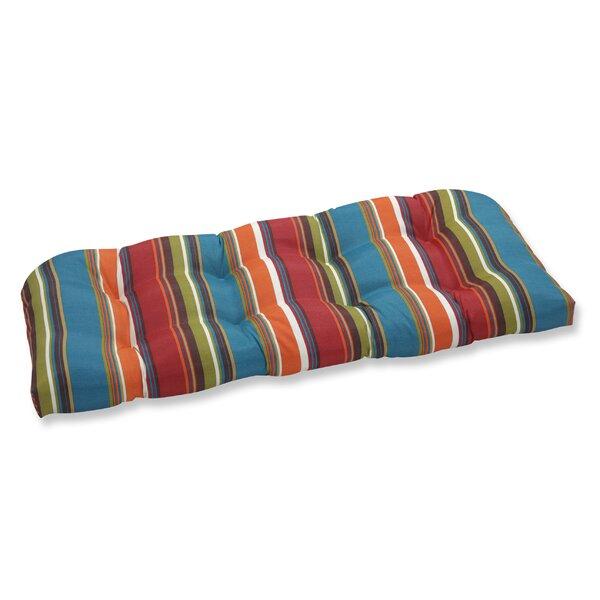 Crosthwait Indoor/Outdoor Loveseat Cushion By Winston Porter