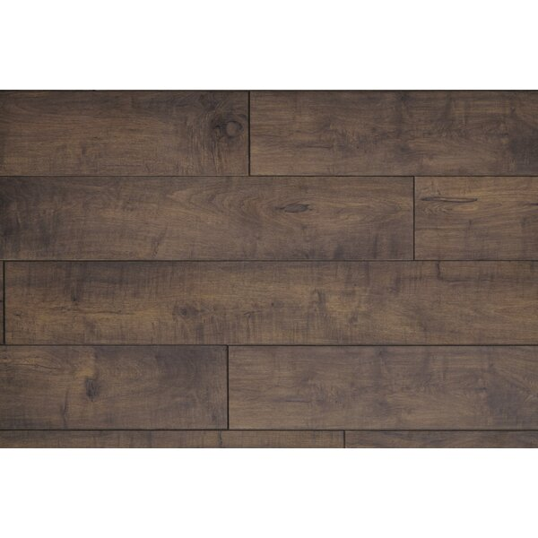 Restoration Wide Plank 8'' x 51'' x 12mm Maple Laminate Flooring in Branch by Mannington