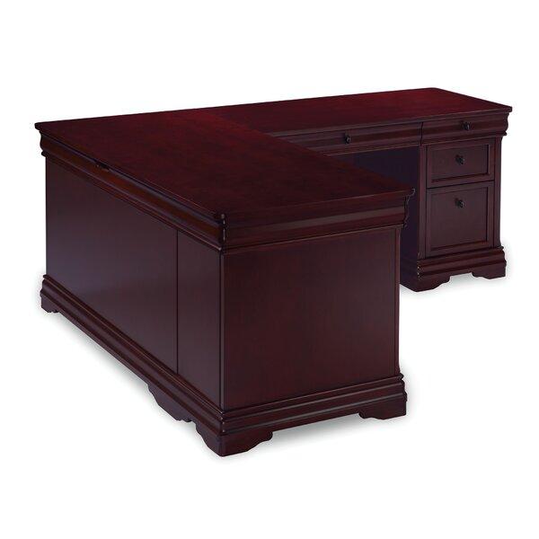 Flannagan L-Shape Computer Desk by Three Posts
