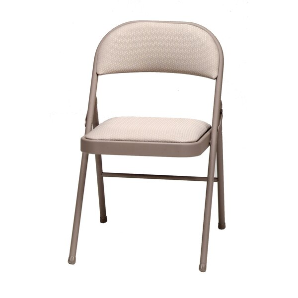 Deluxe Fabric Padded Folding Chair (Set of 4) by MECO Corporation