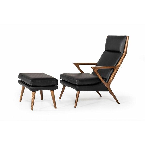 Ellesmere Lounge Chair and Ottoman by Corrigan Studio Corrigan Studio