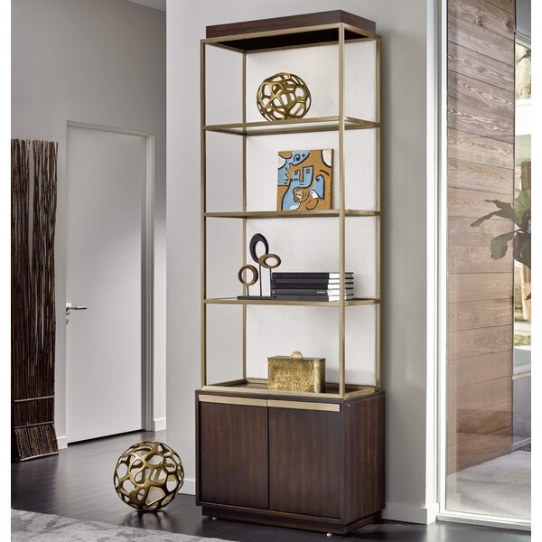 Aiello Standard Bookcase by Willa Arlo Interiors