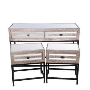 Floyd 3 Piece Console Table Set by Union Rustic