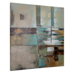 'Prism II' Painting Print on Wrapped Canvas by Andover Mills