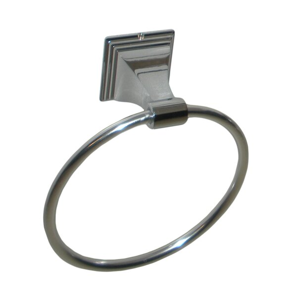 Leonard Wall Mounted Euro Style Holder Towel Ring by ARISTA