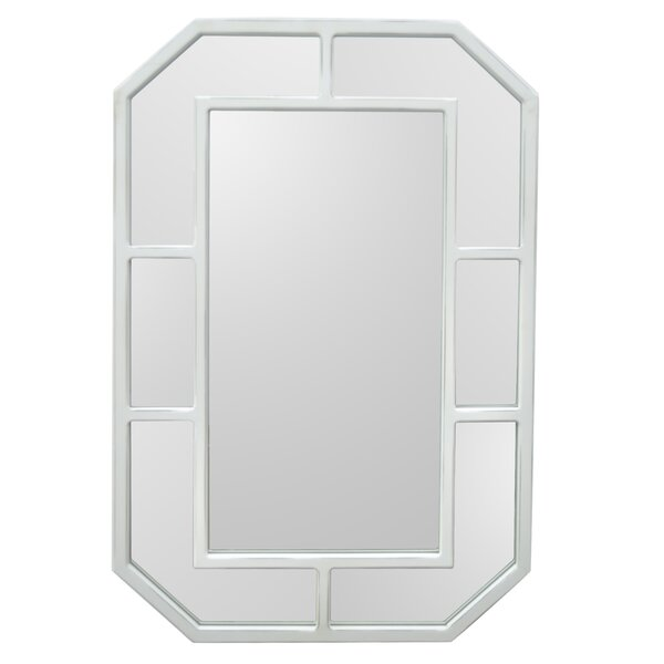 Rye Wood Accent Mirror by Charlton Home