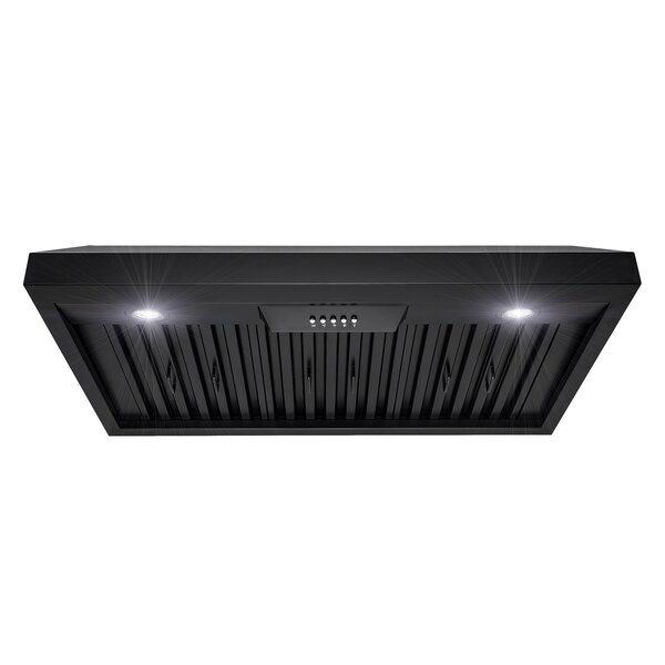 36 400 CFM Ducted Under Cabinet Range Hood by AKDY