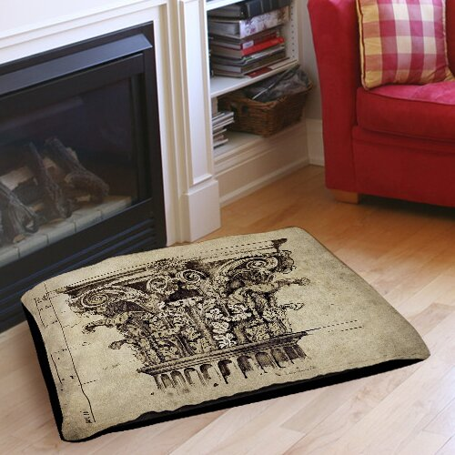 Column II Indoor/Outdoor Pet Bed by Manual Woodworkers & Weavers