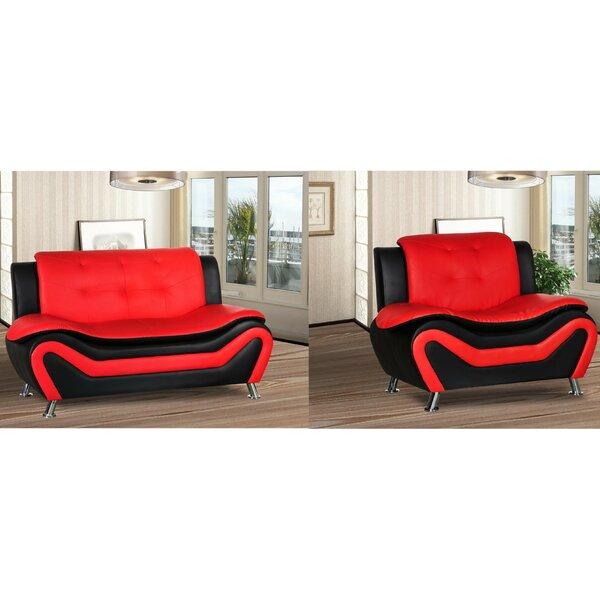 Montenegro 2 Piece Living Room Set by Orren Ellis Orren Ellis