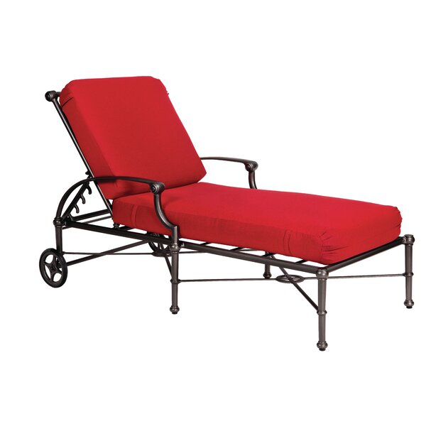 Delphi Adjustable Chaise Lounge by Woodard