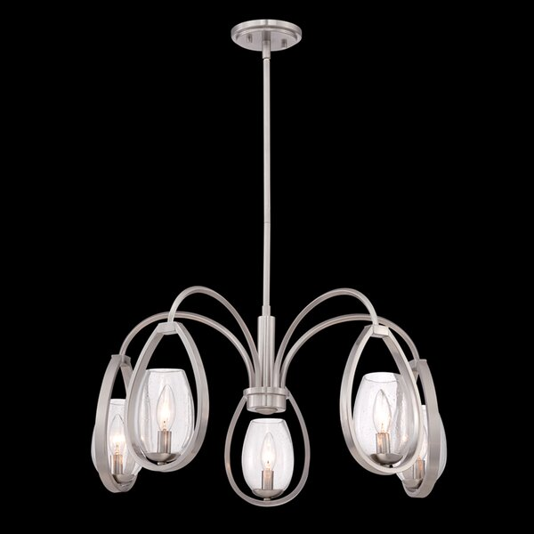 Fantini 5 - Light Shaded Classic / Traditional Chandelier By Eurofase