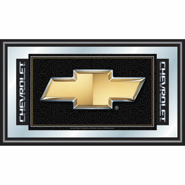 Chevy Chevrolet Bow Tie Framed Vintage Advertisement by Trademark Global