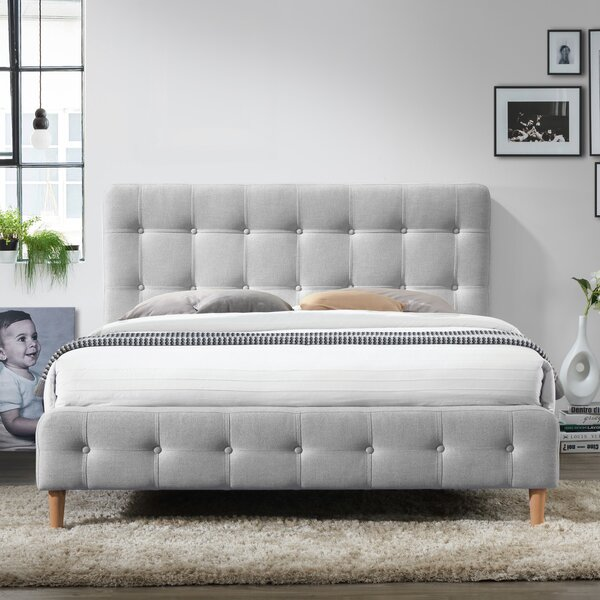 Gutman Queen Upholstered Platform Bed by Mercury Row