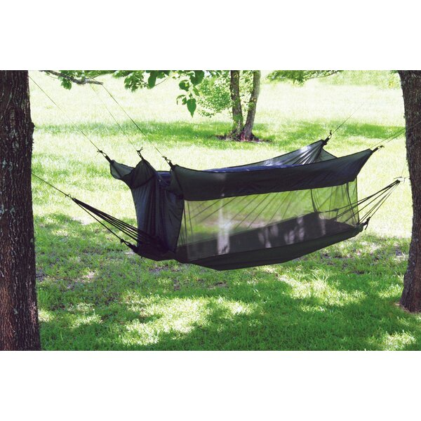 Avenelle Wilderness Canvas and Nylon Camping Hammock by Freeport Park