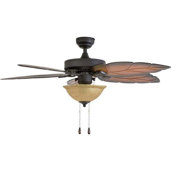 52 Peletier 5 Blade Ceiling Fan by Bay Isle Home