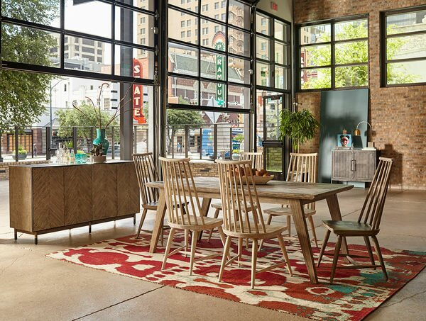 Coleman 7 Piece Dining Set by Union Rustic