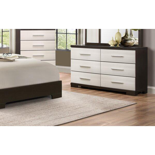 6 Drawer Double Dresser by Brayden Studio