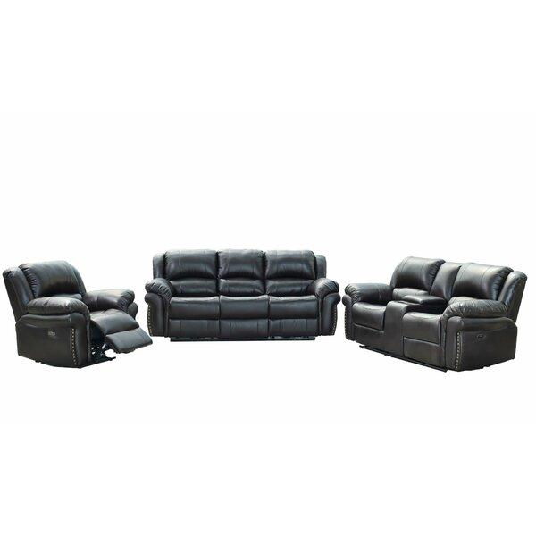 Kishun 3 Piece Reclining Living Room Set By Winston Porter