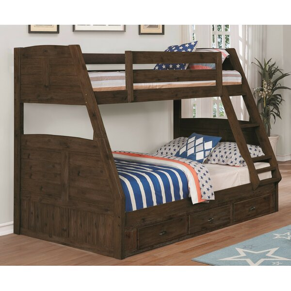 Laurenza Twin over Full Bunk Bed with Drawer by Birch Lane™ Heritage