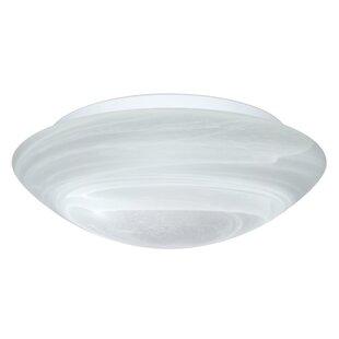 Inexpensive Nova 2-Light Outdoor Flush Mount By Besa Lighting