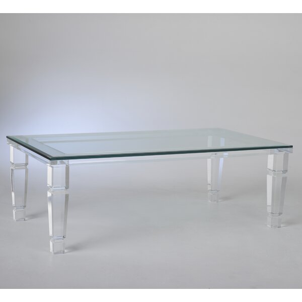 Canora Grey Glass Top Coffee Tables