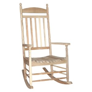 rayane solid wood rocking chair