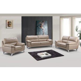 Mcnab 3-Piece Living Room Sofa Set by Orren Ellis