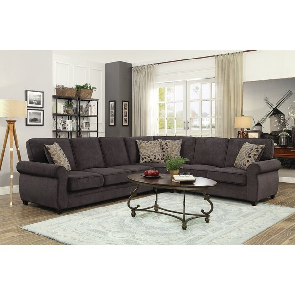 Charlton Home Convertible Sleeper Sectionals