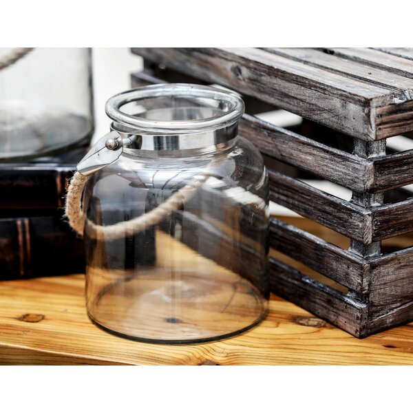 Glass Lantern by Cole & Grey