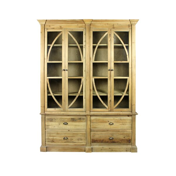 Howarth 4 Drawer 4 Door Bookcase by August Grove