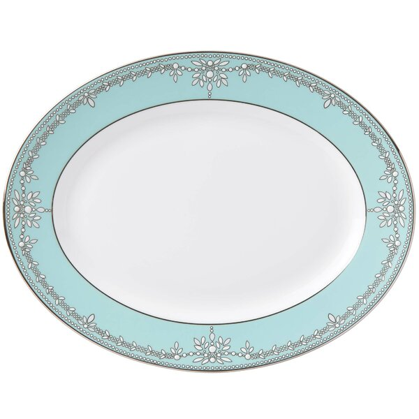 Empire Pearl Platter by Marchesa by Lenox