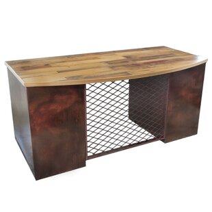 Bowfront Top Executive Desk