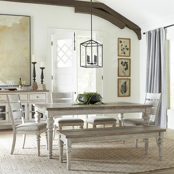 Heartland 6 Piece Dining Table Set by One Allium Way
