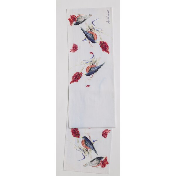 Cortright Robin Original Design Table Runner by August Grove