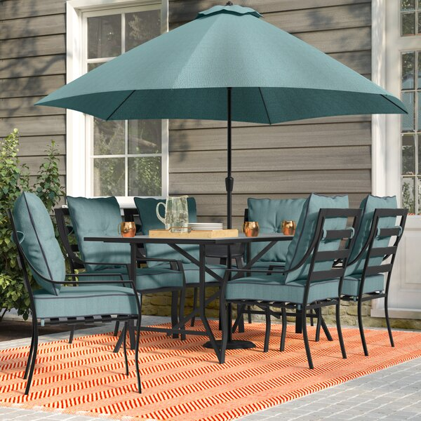 Bozarth 8 Piece Dining Set by Darby Home Co