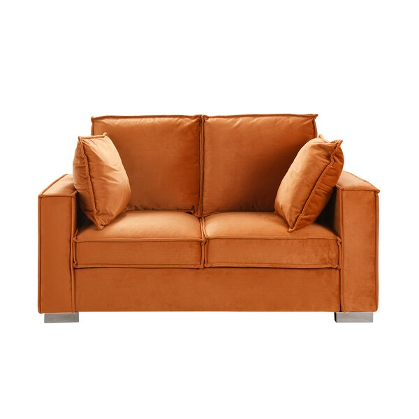 Last Trendy Neihart Space Saving Loveseat by Ebern Designs by Ebern Designs