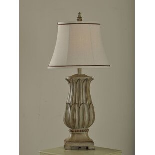 Price Check Lucerne Lotus 32 Table Lamp By Ophelia & Co.