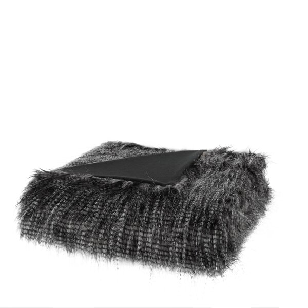 Dover Faux Fur Throw by Mercer41