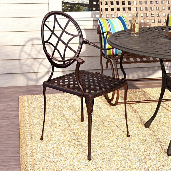 Annawamscutt Patio Dining Chair (Set of 2) by Alcott Hill