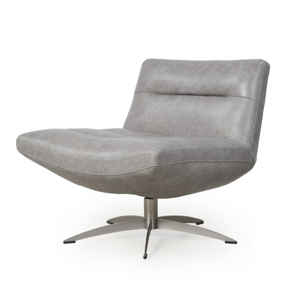 Taran Swivel Slipper Chair By Orren Ellis