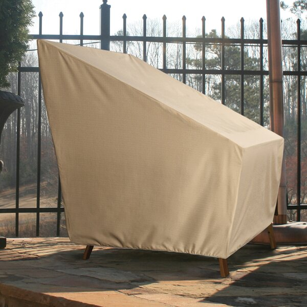 High Back Breathable Patio Chair Covers by Freeport Park