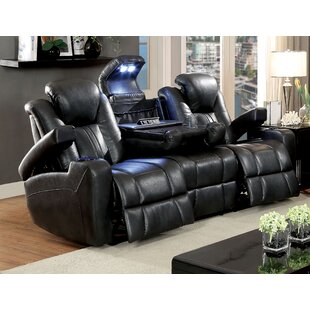 Bettina Faux Leather Reclining Configurable Living Room Set by Orren Ellis